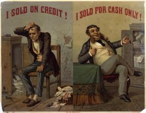 I sold on credit, I sold on cash